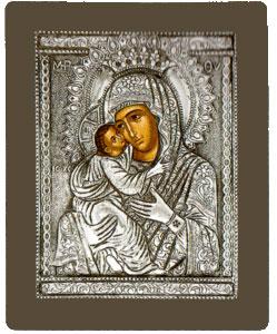 Εικόνα Παναγία Γλυκοφιλούσα Βυζαντινή